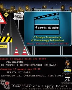 A CORTO di idee 2009 - Locandina